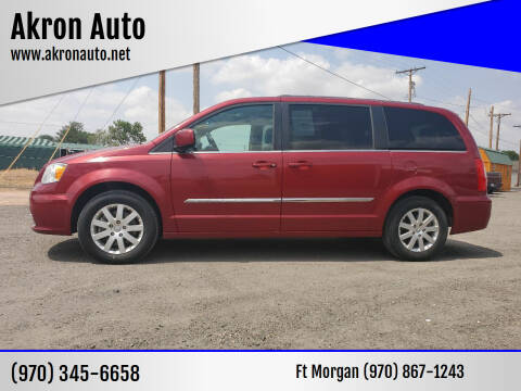 2014 Chrysler Town and Country for sale at Akron Auto in Akron CO