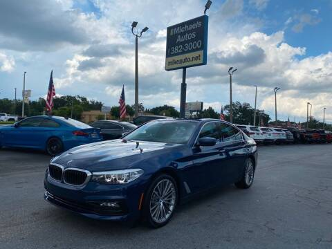 2018 BMW 5 Series for sale at Michaels Autos in Orlando FL