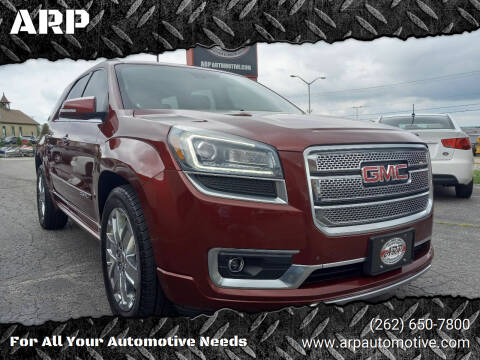 2015 GMC Acadia for sale at ARP in Waukesha WI