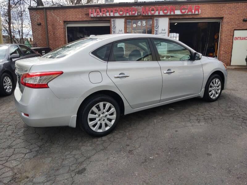 2015 Nissan Sentra for sale at HARTFORD MOTOR CAR in Hartford CT