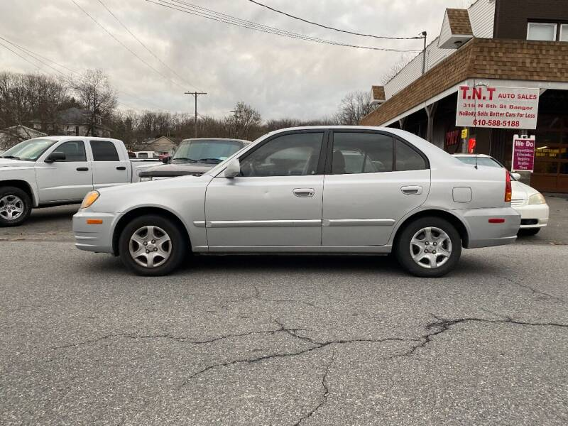 2005 Hyundai Accent for sale at TNT Auto Sales in Bangor PA