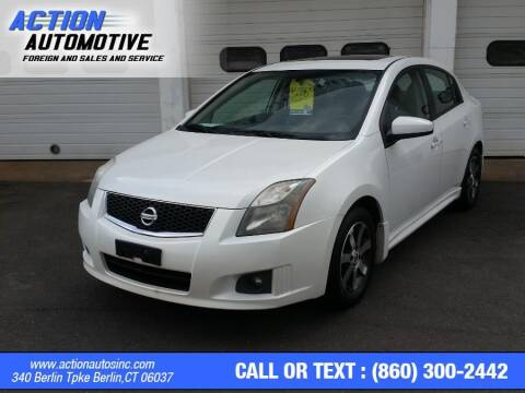 2012 Nissan Sentra for sale at Action Automotive Inc in Berlin CT