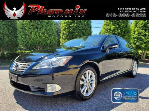 2012 Lexus ES 350 for sale at Phoenix Motors Inc in Raleigh NC