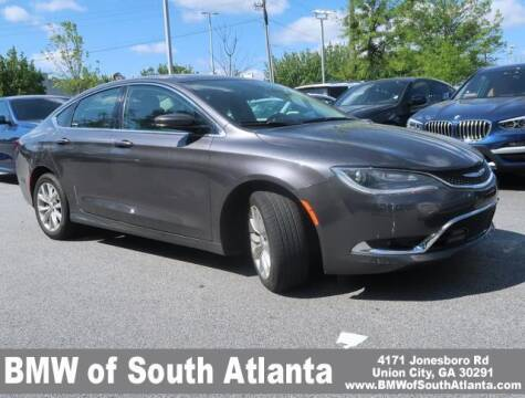 2015 Chrysler 200 for sale at Carol Benner @ BMW of South Atlanta in Union City GA
