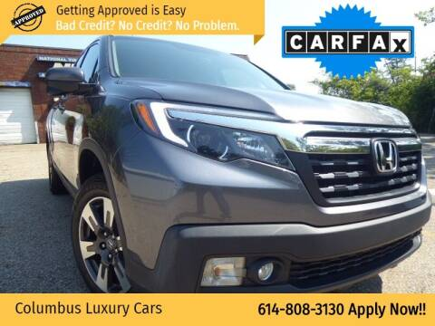 2017 Honda Ridgeline for sale at Columbus Luxury Cars in Columbus OH