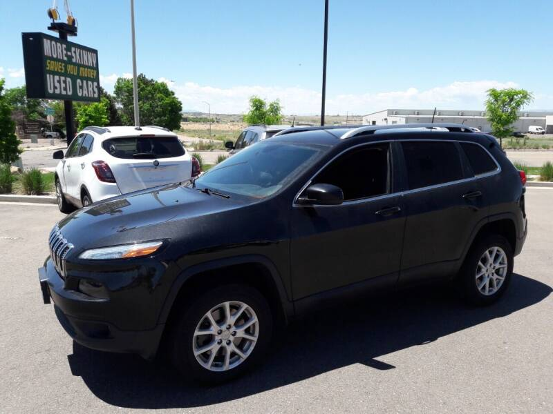 2016 Jeep Cherokee for sale at More-Skinny Used Cars in Pueblo CO