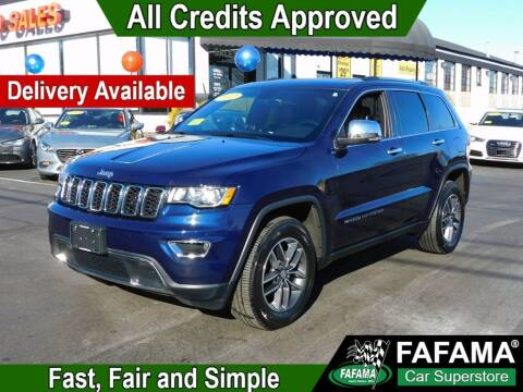 2017 Jeep Grand Cherokee for sale at FAFAMA AUTO SALES Inc in Milford MA