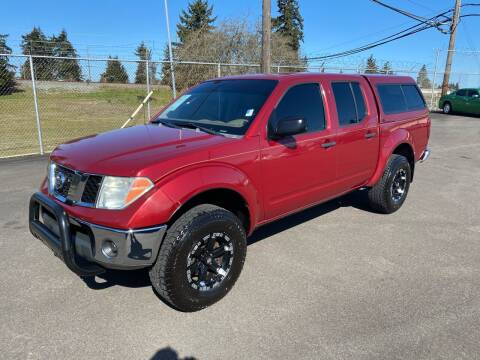 2007 Nissan Frontier for sale at Vista Auto Sales in Lakewood WA