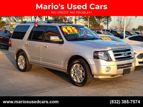 2014 Ford Expedition for sale at Mario's Used Cars in Houston TX