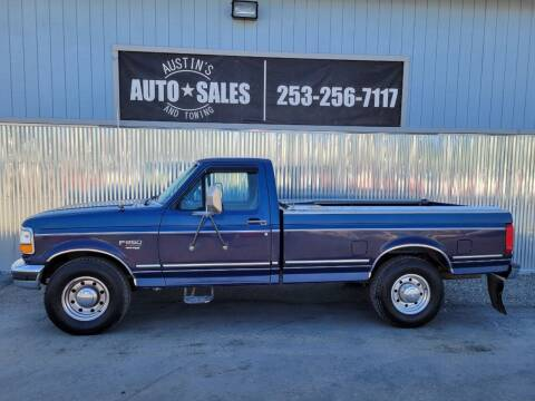 1995 Ford F-250 for sale at Austin's Auto Sales in Edgewood WA