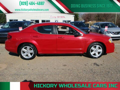 2013 Dodge Avenger for sale at Hickory Wholesale Cars Inc in Newton NC