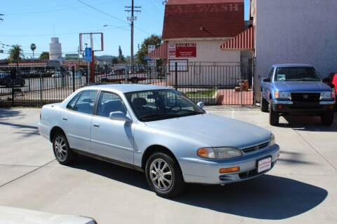 1996 Toyota Camry for sale at Car 1234 inc in El Cajon CA
