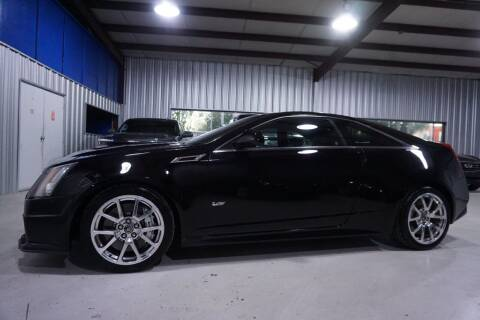 2011 Cadillac CTS-V for sale at SOUTHWEST AUTO CENTER INC in Houston TX