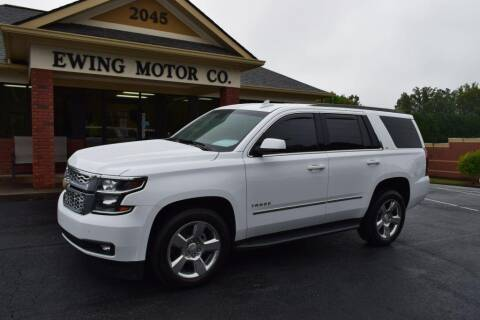 2018 Chevrolet Tahoe for sale at Ewing Motor Company in Buford GA
