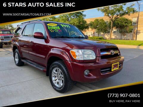 2006 Toyota Sequoia for sale at 6 STARS AUTO SALES INC in Chicago IL