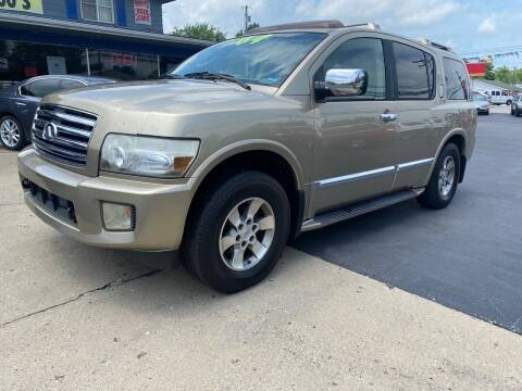 2004 Infiniti QX56 for sale at Wise Investments Auto Sales in Sellersburg IN