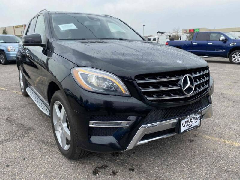 2014 Mercedes-Benz M-Class for sale in Brighton, CO