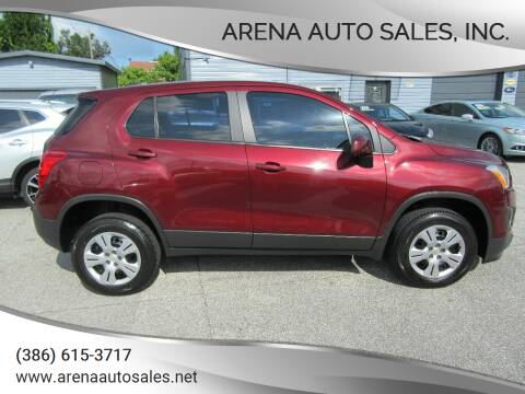 2016 Chevrolet Trax for sale at ARENA AUTO SALES,  INC. in Holly Hill FL