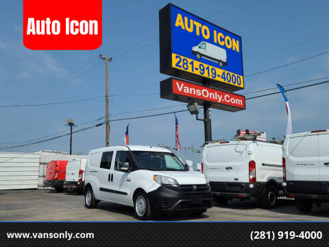 2017 RAM ProMaster City Cargo for sale at Auto Icon in Houston TX