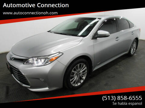2016 Toyota Avalon Hybrid for sale at Automotive Connection in Fairfield OH