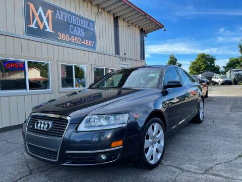 2005 Audi A6 for sale at M & A Affordable Cars in Vancouver WA
