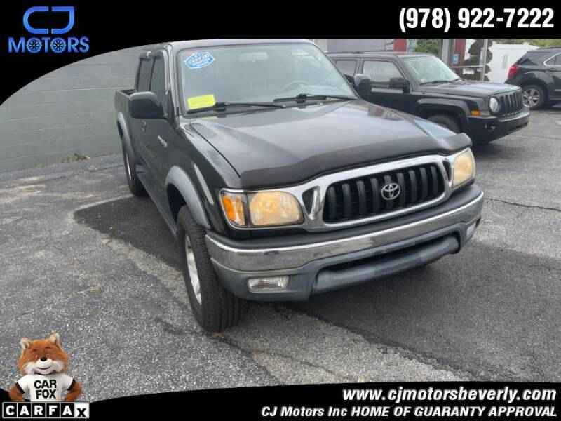 2001 Toyota Tacoma for sale at CJ Motors Inc. in Beverly MA
