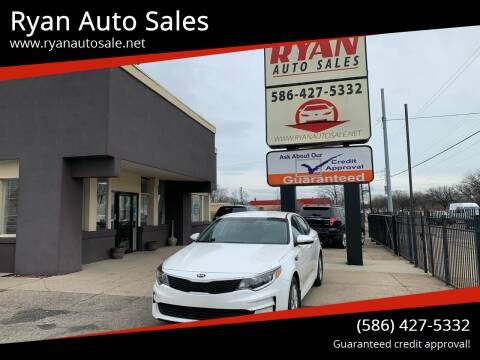 2018 Kia Optima for sale at Ryan Auto Sales in Warren MI