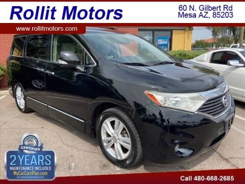 2012 Nissan Quest for sale at Rollit Motors in Mesa AZ