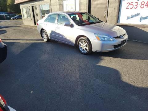 2003 Honda Accord for sale at Bonney Lake Used Cars in Puyallup WA