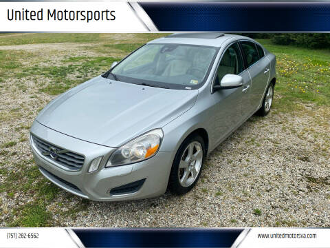 2012 Volvo S60 for sale at United Motorsports in Virginia Beach VA