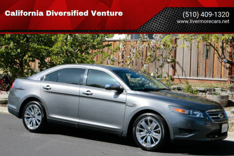 2011 Ford Taurus for sale at California Diversified Venture in Livermore CA