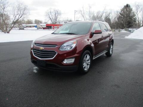 2016 Chevrolet Equinox for sale at SUMMIT TRUCK & AUTO INC in Akron NY