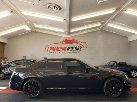 2015 Chrysler 300 for sale at Premium Motors in Villa Park IL