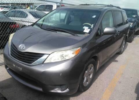 2011 Toyota Sienna for sale at Hatimi Auto LLC in Buda TX