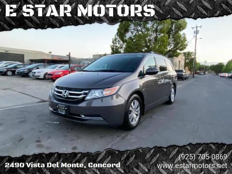 2014 Honda Odyssey for sale at E STAR MOTORS in Concord CA
