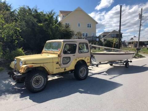 1976 Jeep CJ-5 for sale at Classic Car Deals in Cadillac MI