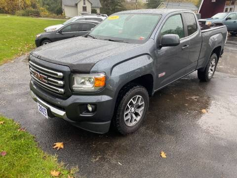 2015 GMC Canyon for sale at Pop's Automotive in Homer NY