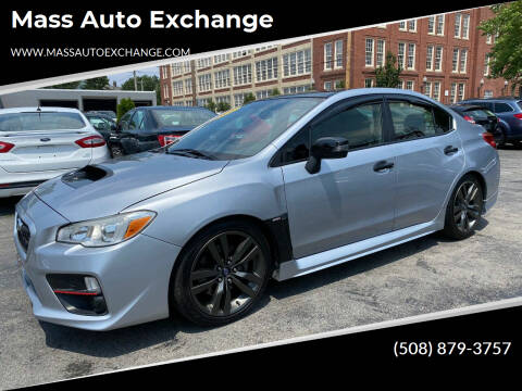 2016 Subaru WRX for sale at Mass Auto Exchange in Framingham MA