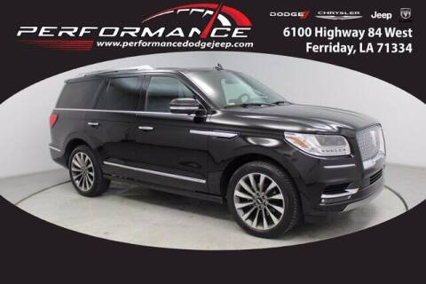 2018 Lincoln Navigator for sale at Performance Dodge Chrysler Jeep in Ferriday LA