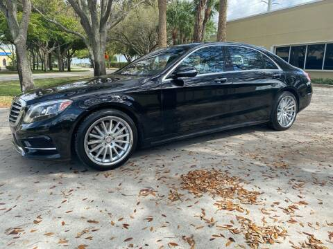 2016 Mercedes-Benz S-Class for sale at Ultimate Dream Cars in Wellington FL