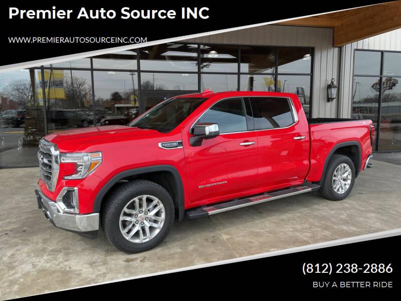 2019 GMC Sierra 1500 for sale at Premier Auto Source INC in Terre Haute IN