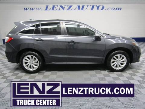 2016 Acura RDX for sale at LENZ TRUCK CENTER in Fond Du Lac WI
