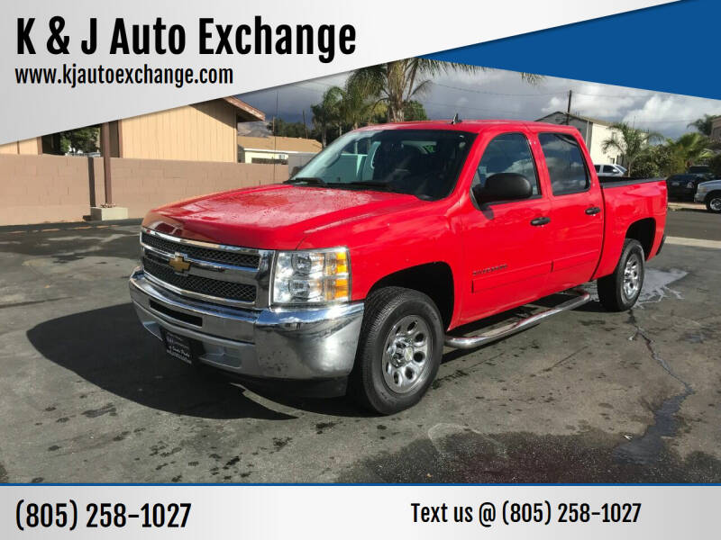2013 Chevrolet Silverado 1500 for sale at K & J Auto Exchange in Santa Paula CA