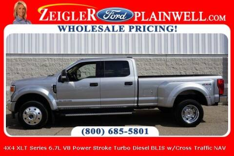 2020 Ford F-450 Super Duty for sale at Zeigler Ford of Plainwell- Jeff Bishop in Plainwell MI