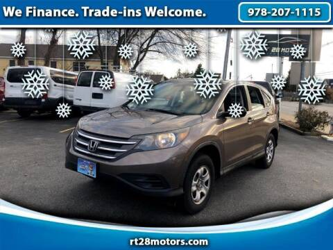 2012 Honda CR-V for sale at RT28 Motors in North Reading MA