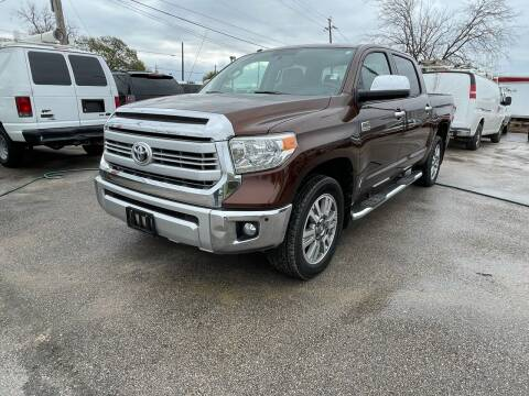 2014 Toyota Tundra for sale at RODRIGUEZ MOTORS CO. in Houston TX