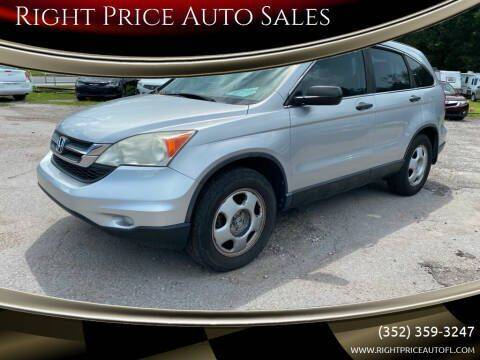 2010 Honda CR-V for sale at Right Price Auto Sales in Waldo FL