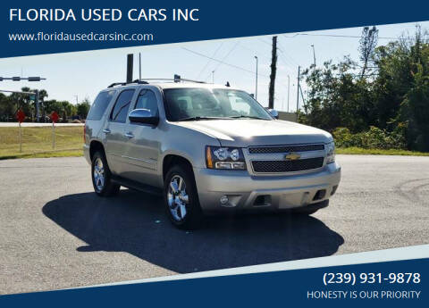 2013 Chevrolet Tahoe for sale at FLORIDA USED CARS INC in Fort Myers FL