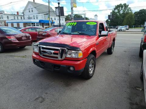 2011 Ford Ranger for sale at TC Auto Repair and Sales Inc in Abington MA