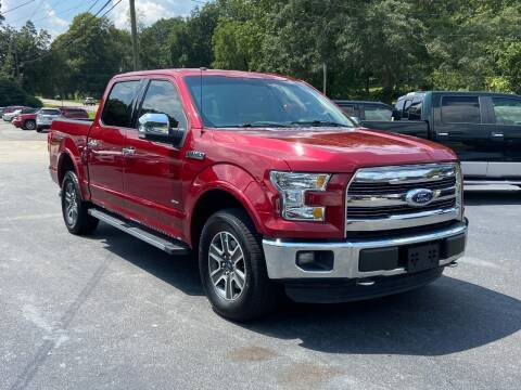 2015 Ford F-150 for sale at Luxury Auto Innovations in Flowery Branch GA